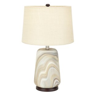 Abston Glass 25 Table Lamp