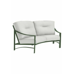 Kenzo Loveseat With Cushions By Tropitone