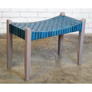 Mistana Alessandro Modern Rustic Wood Bench