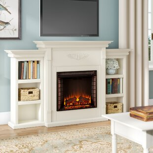 Large White Electric Fireplace Wayfair