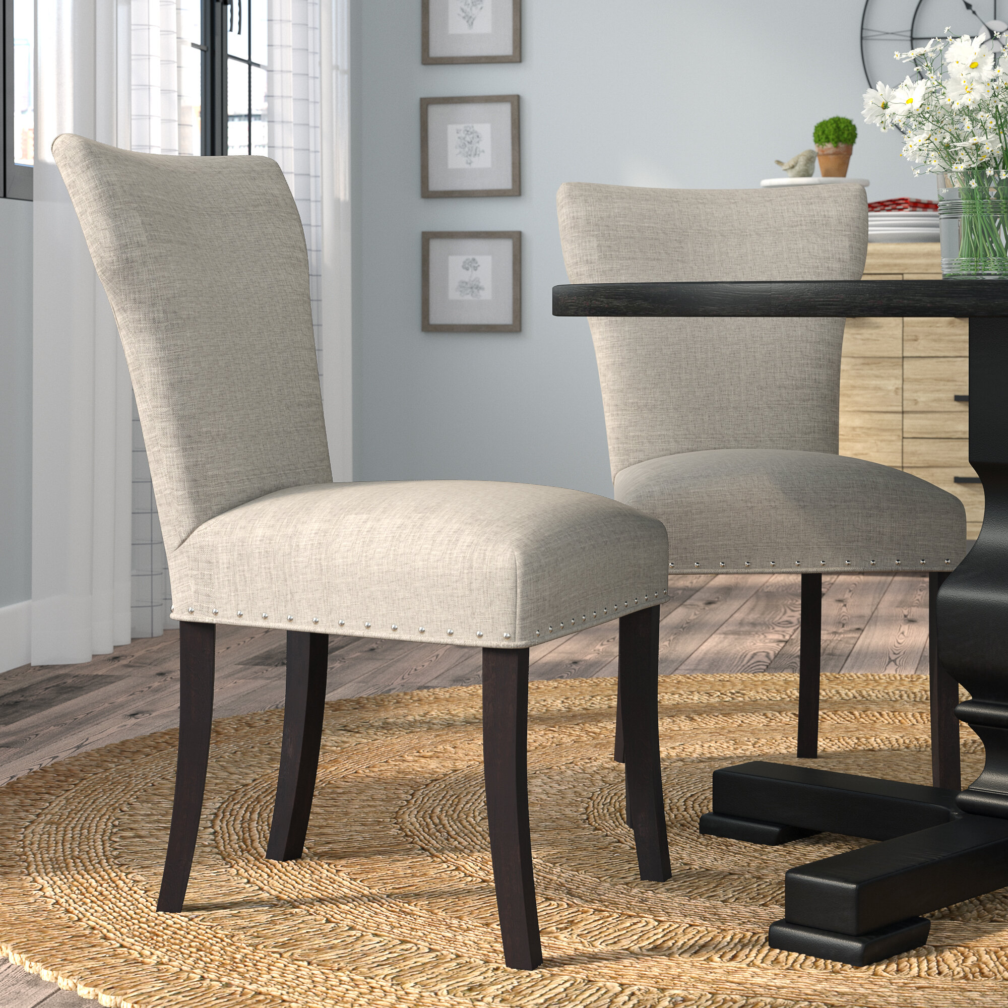 Lorie Upholstered Contemporary Parsons Chair