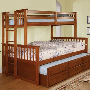 Bargain CarlyBunk Bed with Drawers ByHarriet Bee