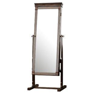 Rectangle Jewelry Armoire Cheval Mirror