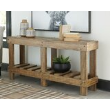 Dente 64 Solid Wood Console Table by Gracie Oaks