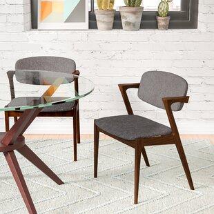 Lehighton Upholstered Arm Chair (Set of 2..