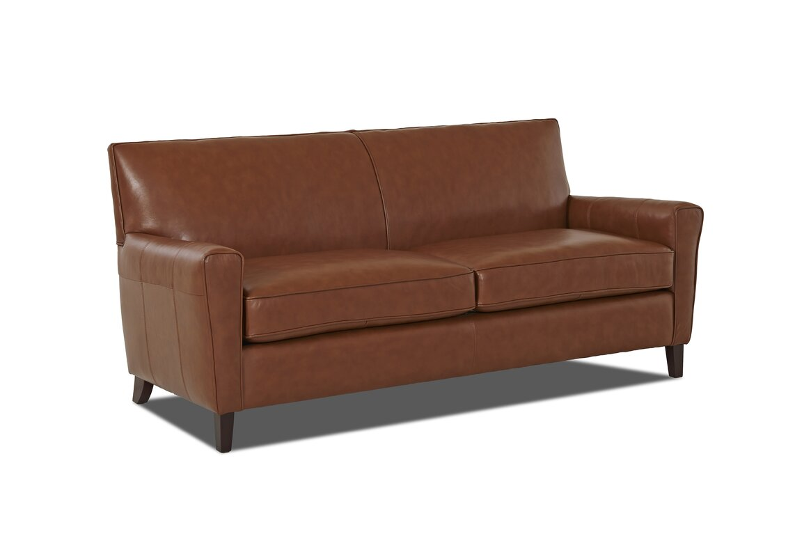 Grayson Sofa Grayson Mid Century Curved Wood Arm Sofa By