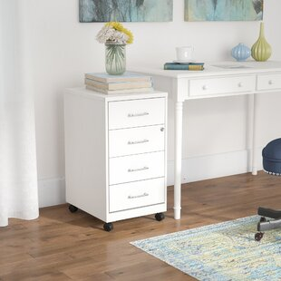 Rebrilliant Bottorff 4 Drawer Steel Mobile File Cabinet