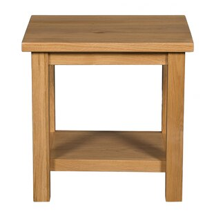 Genial Thunderhead Oak Side Table