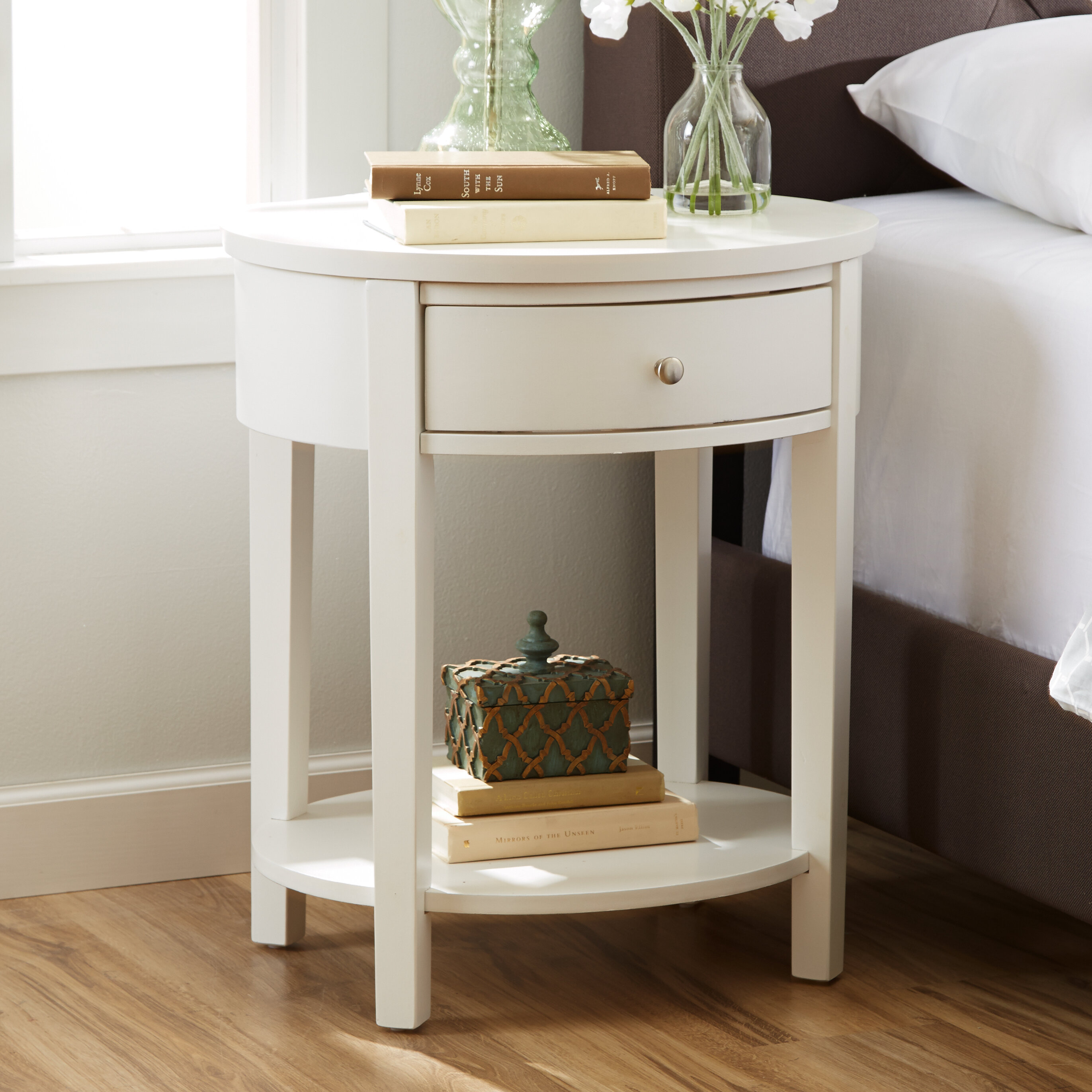 Three Posts Canterbury End Table With Storage U0026 Reviews | Wayfair