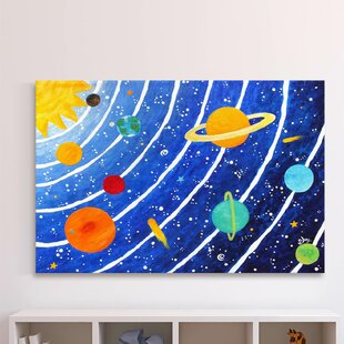 Outer Space Solar System Personaized LED Night Light Planets