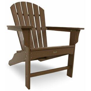 Yacht Club Plastic Adirondack Chair By Trex Outdoor