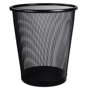 Cosmopolitan Furniture Office Mesh 4.5 Gallon Waste Basket (Set of 2)