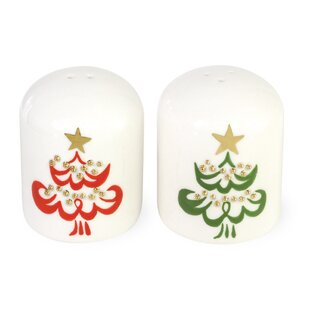 O Christmas Tree Salt and Pepper Set