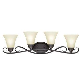 Reviews Dunmore 4-Light Vanity Light By Westinghouse Lighting