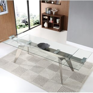 Nannette Extendable Dining Table Orren Ellis