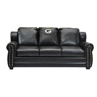 Merveilleux NFL Coach Leather Sofa