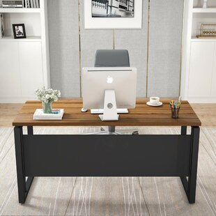 Poche L-Shaped Computer Desk by Williston Forge Best #1