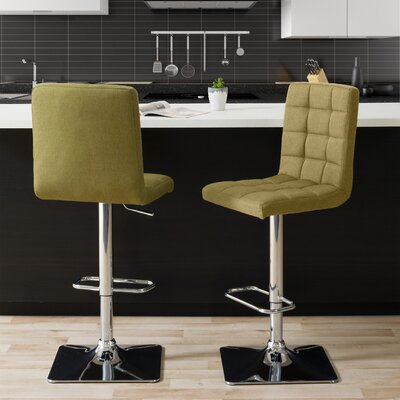 Cool Dostie Adjustable Height Swivel Bar Stool Brayden Studio Gmtry Best Dining Table And Chair Ideas Images Gmtryco