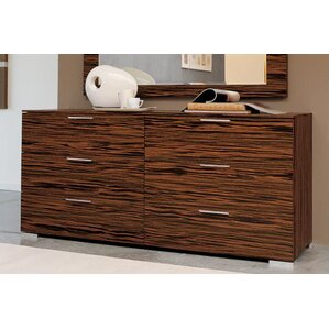 Webb 6 Drawer Double Dresser by YumanMod