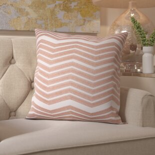 Glaucodot Thick Chevron Throw Pillow