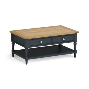 Alcott Coffee Table With Storage By August Grove