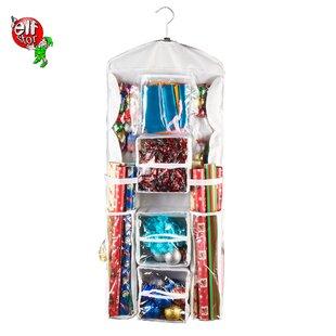 Hanging Gift Wrap Storage Bag