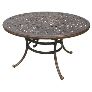 Fairmont Traditional Metal Frame Dining Table