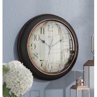 Hartsburg 12 Wall Clock By Three Posts
