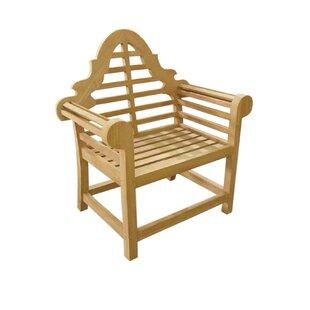 D-Art Collection Lutyen Teak Patio Chair