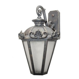Read Reviews Petrey 3-Light Outdoor Wall Lantern By Alcott Hill