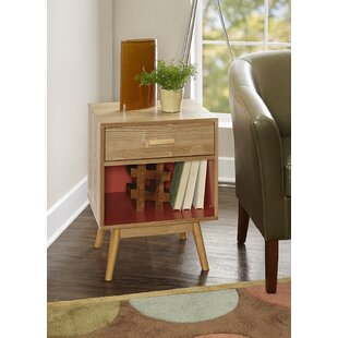 Best Deals Topsham End Table by Wrought Studio