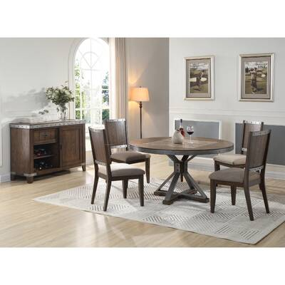 Darby Home Co Kingsley 5 Piece Dining Set Reviews Wayfair