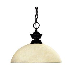 Red Barrel Studio Chaplin 1-Light Dome Pendant