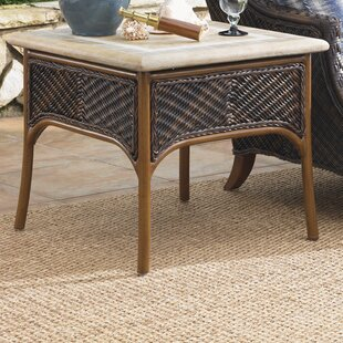Island Estate Lanai Wicker Rattan Side Table