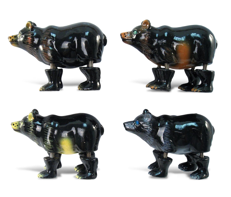 Cota Global Puzzled Bear Refrigerator Bobble 4 Piece Magnet Set Wayfair