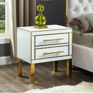 Kenilworth 2 Drawer Nightstand by Everly Quinn
