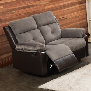 Tavistock Reclining Loveseat by Red Barrel Studio