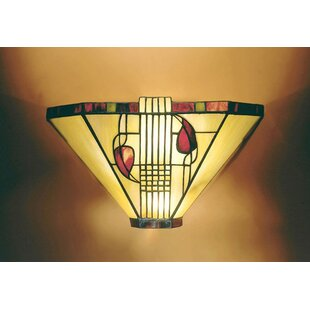 Reviews Whatley 1-Light Wall Sconce By Fleur De Lis Living