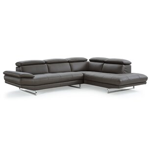 Gridley Leather Sectional