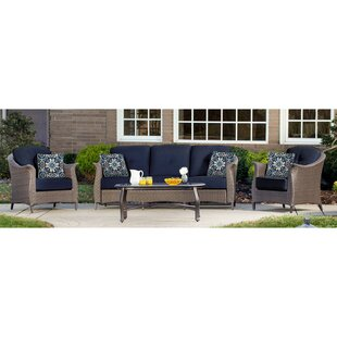 Darby Home Co Daigle 4 Piece Sofa Set with Cushions