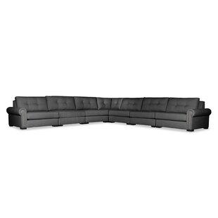 Willia Buttoned Right and Left Arms L-Shape Modular Sectional