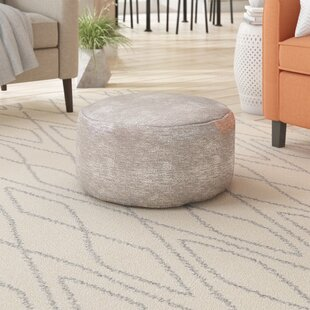 Best Deals Banton Pouf By Wade Logan