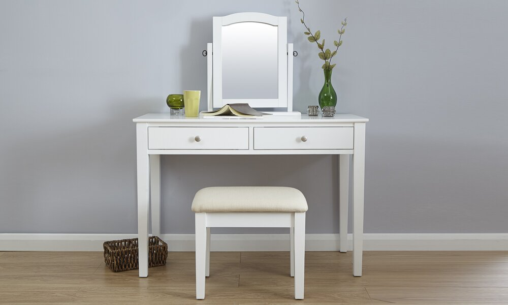 Mirrored dressing table set uk home ideas for Small mirrored dressing table set