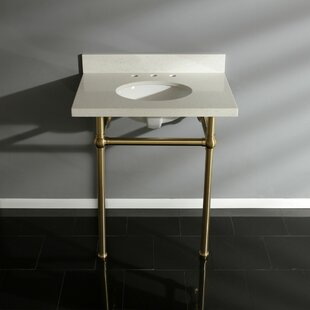 Shopping for Templeton White Quartz Rectangular Undermount Bathroom Sink with Overflow By Kingston Brass