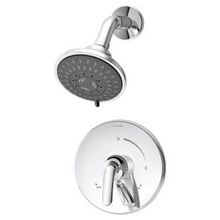 Great Price Elm Pressure Balance Shower Faucet Trim with Lever Handle By Symmons