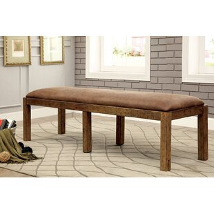 Gracie Oaks Coshocton Wood Bench