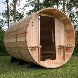 Cheap Weston Fir 6 Person Traditional Steam Sauna Almost Heaven Saunas LLC