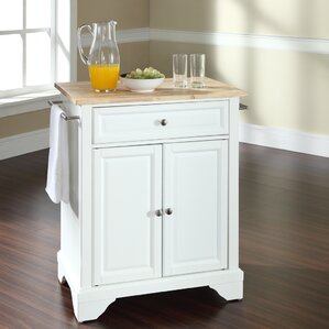 Abbate Kitchen Cart by Darby Home Co