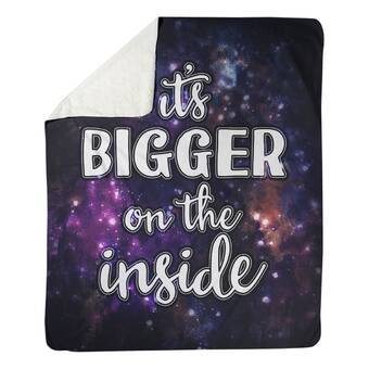 East Urban Home Faux Gemstone Be Kind Quote Fleece Throw