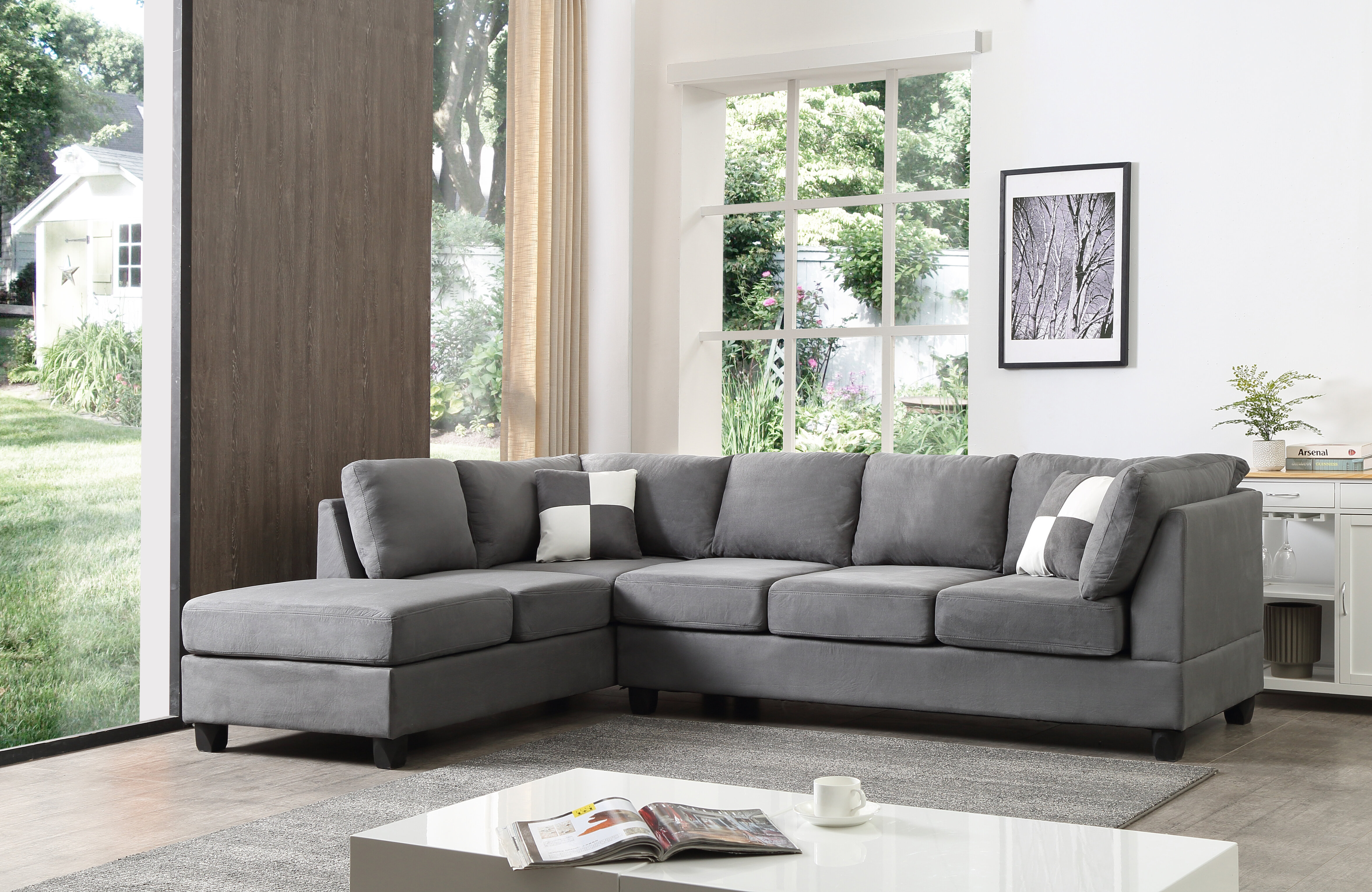 Andover Mills Childress Sectional Reviews